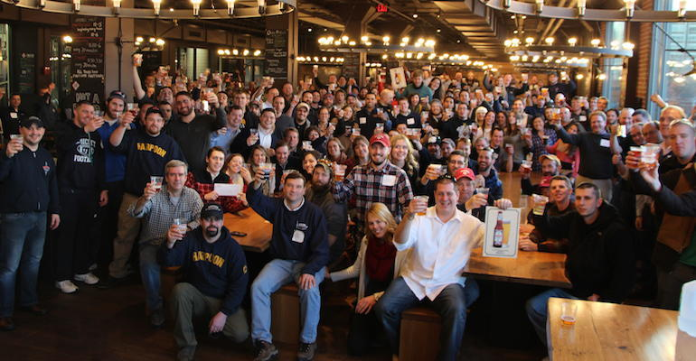 Harpoon Brewery Featured Brewery Event at Stone Balloon