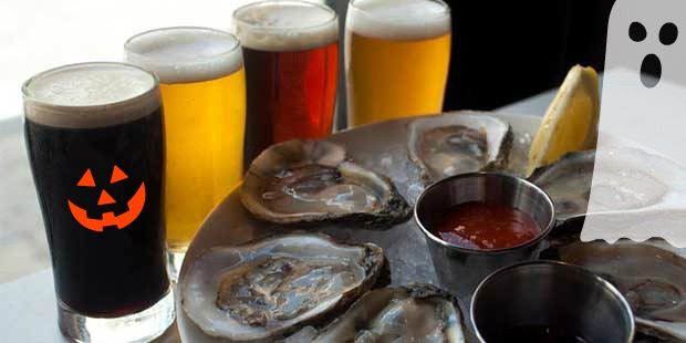 Stone Balloon Orchard Point Oysters Mispillion River Brews